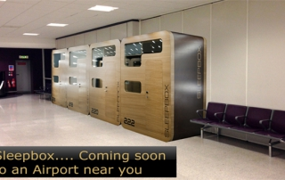 Sleepbox, coming to and airport near you.