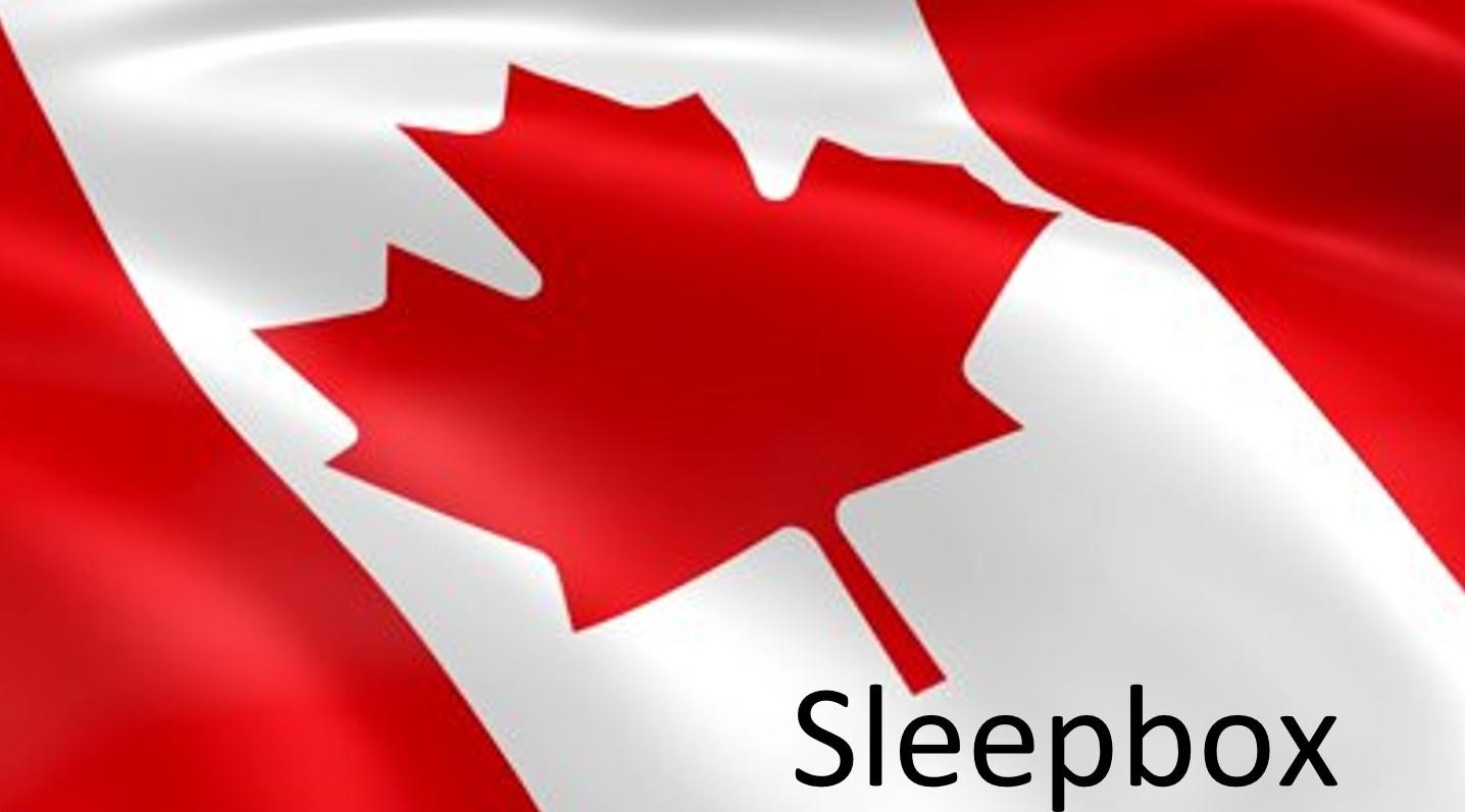 Sleepbox Canada