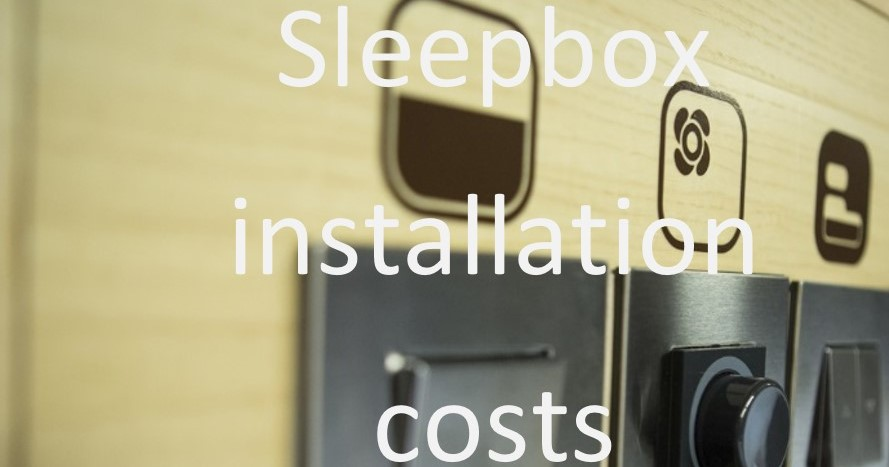 Sleepbox installation costs